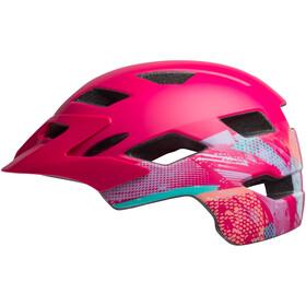 Bell Sidetrack Helmet Kinder green ridgeline matte berry